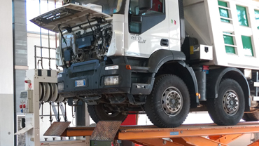 servizio officina mezzi pesanti