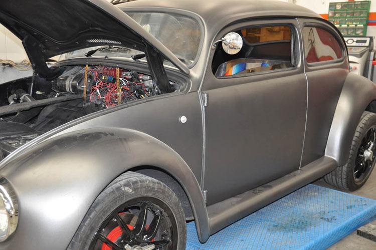 verniciatura a forno e restauro auto d'epoca